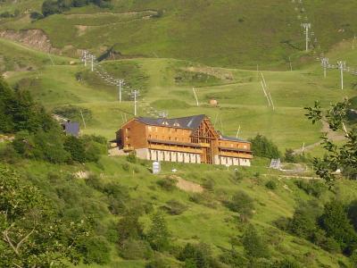 Location au ski Residence Le Valier - Guzet - Extérieur été