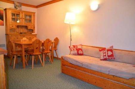 Location au ski Appartement 2 pièces cabine 6 personnes (107A) - Residence Le Valmont - Les Menuires - Extérieur été