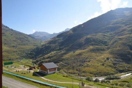 Location au ski Studio cabine 4 personnes (502) - Résidence le Valmont - Les Menuires - Extérieur été