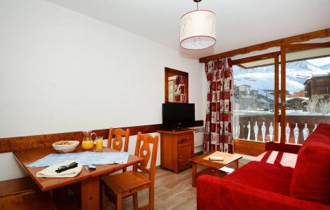 Vacances en montagne Résidence le Valset - Val Thorens - Coin repas