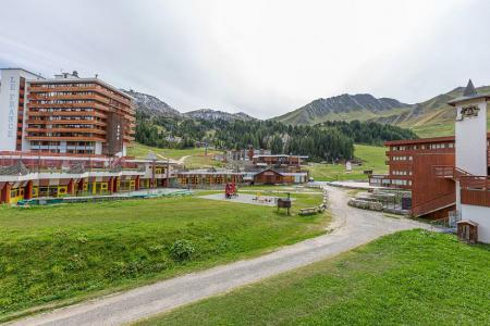 Vacances en montagne Studio 4 personnes (108) - Résidence le Vercors - La Plagne - Extérieur été