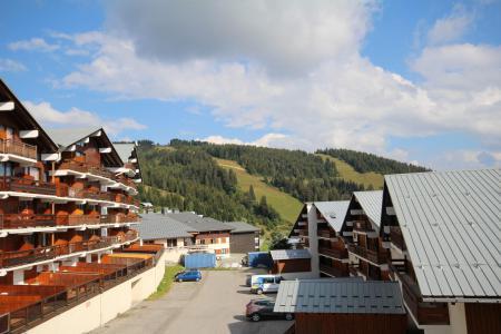 Rent in ski resort 1 room mezzanine apartment 6 people (425) - Résidence le Village 4 - Les Saisies - Summer outside