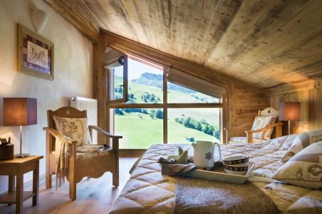Holiday in mountain resort Résidence le Village de Lessy - Le Grand Bornand - Bedroom