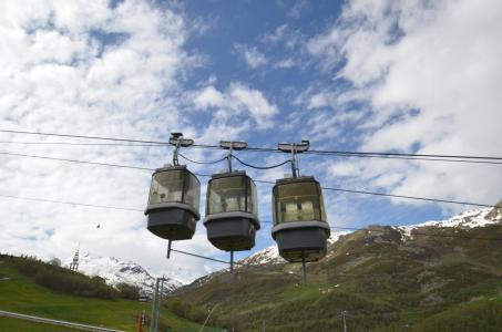 Location au ski Résidence le Villaret - Les Menuires - Extérieur été