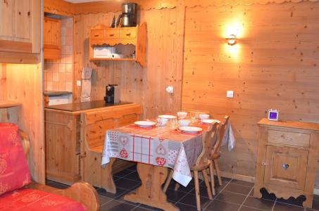 Vacances en montagne Studio cabine 4 personnes (VP520) - Résidence le Villaret - Les Menuires