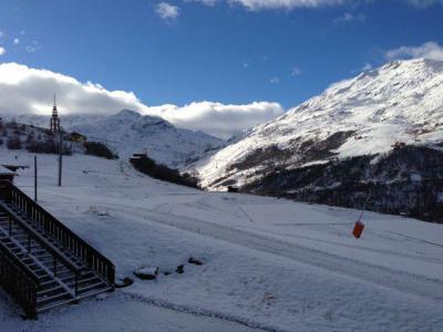 Vacances en montagne Studio cabine 4 personnes (114) - Résidence le Villaret - Les Menuires