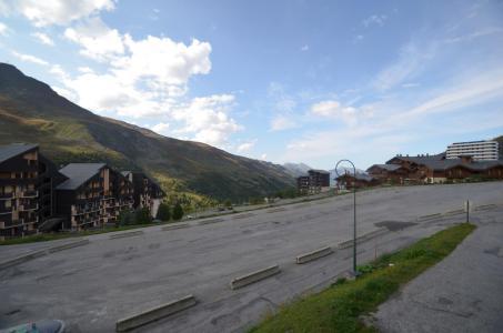 Location au ski Studio 2 cabines 4 personnes (205) - Résidence le Villaret - Les Menuires - Extérieur été