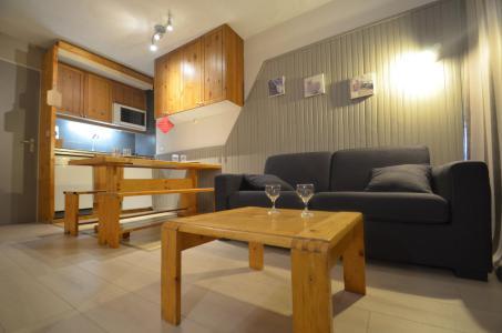 Vacances en montagne Studio 2 cabines 4 personnes (205) - Résidence le Villaret - Les Menuires - Séjour