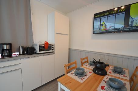 Vacances en montagne Studio cabine 4 personnes (114) - Résidence le Villaret - Les Menuires - Cuisine