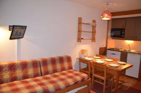 Vacances en montagne Studio cabine 4 personnes (508) - Résidence le Villaret - Les Menuires - Logement