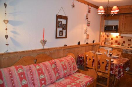 Vacances en montagne Studio cabine 4 personnes (704) - Résidence le Villaret - Les Menuires - Logement