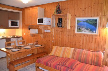 Vacances en montagne Studio cabine 4 personnes (712) - Résidence le Villaret - Les Menuires - Cuisine