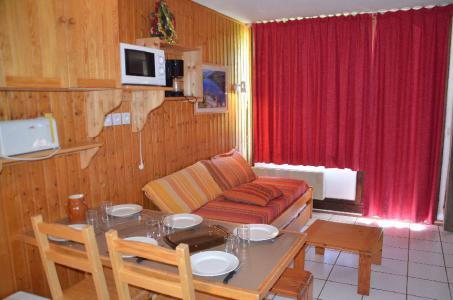 Vacances en montagne Studio cabine 4 personnes (712) - Résidence le Villaret - Les Menuires - Séjour