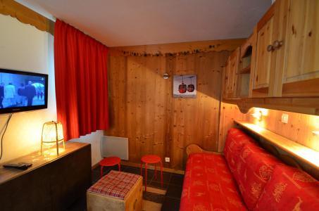 Vacances en montagne Studio cabine 4 personnes (VP520) - Résidence le Villaret - Les Menuires - Séjour