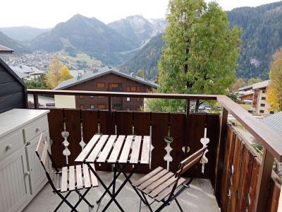 Vacances en montagne Studio coin montagne 4 personnes (56B4) - Résidence le Yéti - Châtel - Balcon