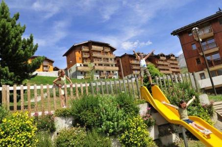 Rental Saint-François Longchamp : Résidence les 4 Vallées summer