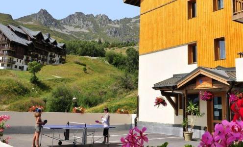 Location au ski Résidence les 4 Vallées - Saint-François Longchamp - Extérieur été