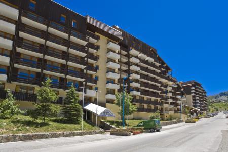 Location au ski Residence Les Adrets - Isola 2000 - Extérieur été