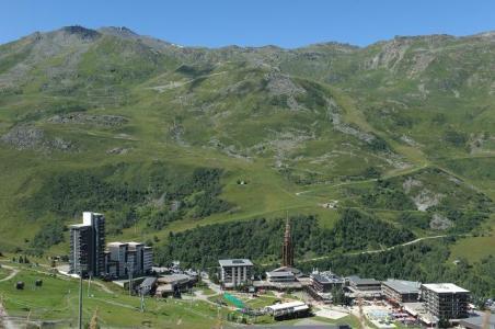 Location au ski Résidence les Alpages - Les Menuires - Extérieur été