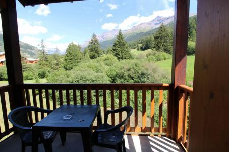Vacances en montagne Appartement 2 pièces 4 personnes (ALE317) - Résidence les Alpages - Val Cenis - Balcon
