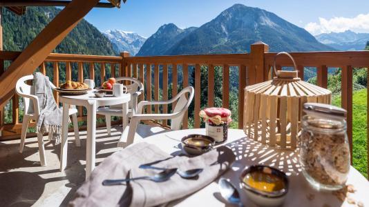 Location au ski Résidence les Alpages de Champagny - Champagny-en-Vanoise - Extérieur été