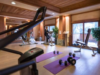 Vacances en montagne Résidence les Alpages de Champagny - Champagny-en-Vanoise - Espace fitness