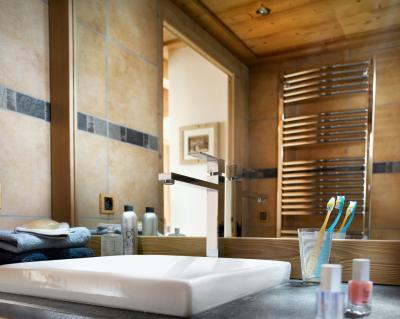 Vacances en montagne Résidence les Alpages de Champagny - Champagny-en-Vanoise - Salle de bains