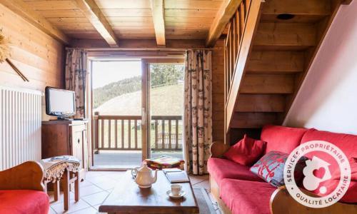 Location au ski Appartement 3 pièces 6 personnes (Sélection 58m²-2) - Résidence les Alpages de Chantel - Maeva Home - Les Arcs - Extérieur été