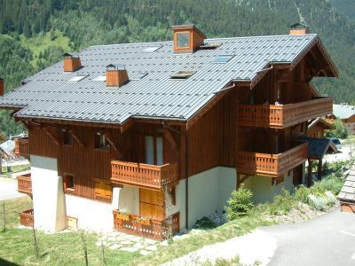 Rent in ski resort Résidence les Alpages de Pralognan F - Pralognan-la-Vanoise - Summer outside
