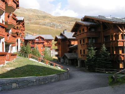 Location au ski Appartement 2 pièces cabine 4 personnes - Residence Les Alpages De Reberty - Les Menuires - Extérieur été