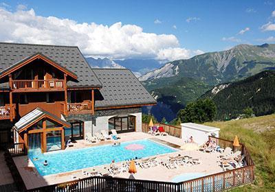 Location au ski Residence Les Alpages Du Corbier - Le Corbier - Extérieur été