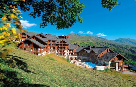 Location au ski Résidence les Alpages du Corbier - Le Corbier - Extérieur été