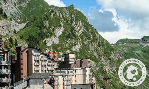 Location au ski Résidence les Alpages - Maeva Home - Avoriaz - Extérieur été