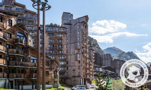 Location au ski Appartement 2 pièces 5 personnes (Confort -6) - Résidence les Alpages - Maeva Home - Avoriaz - Extérieur été