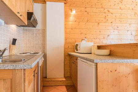 Holiday in mountain resort Studio sleeping corner 4 people (05) - Résidence les Alpets - Montgenèvre