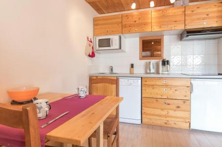 Holiday in mountain resort Studio sleeping corner 4 people (THEVOT) - Résidence les Alpets - Montgenèvre