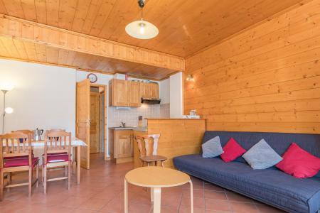 Holiday in mountain resort Studio sleeping corner 4 people (05) - Résidence les Alpets - Montgenèvre - Living room