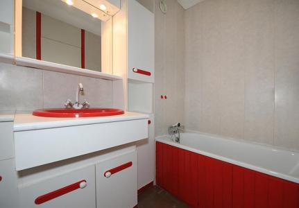 Holiday in mountain resort 2 room apartment 5 people (519) - Résidence les Aravis - Les Menuires - Bath-tub
