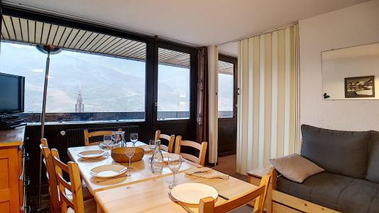 Holiday in mountain resort 2 room apartment 6 people (717) - Résidence les Aravis - Les Menuires - Bunk beds