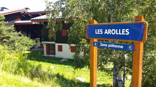 Rent in ski resort Résidence les Arolles - La Norma - Summer outside