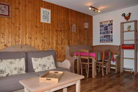 Holiday in mountain resort Studio cabin 4 people (C2) - Résidence les Arolles - Le Grand Bornand