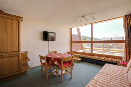 Vacances en montagne Studio 4 personnes (3021) - Résidence les Arolles - Les Arcs - Séjour