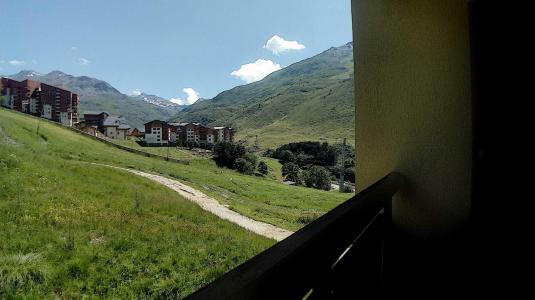 Rent in ski resort Studio cabin 4 people (1315) - Résidence les Asters C6 - Les Menuires - Summer outside