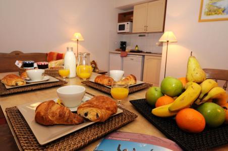 Vacances en montagne Résidence les Balcons d'Anaïs - La Norma - Coin repas