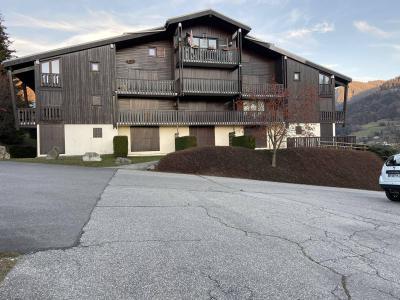 Аренда на лыжном курорте Квартира студия со спальней для 4 чел. (4208) - Résidence les Balcons d'Arly - Praz sur Arly - летом под открытым небом