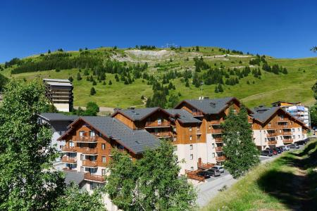 Rent in ski resort Résidence les Balcons d'Auréa - Auris en Oisans - Summer outside