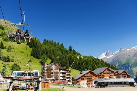 Location au ski Résidence les Balcons d'Auréa - Auris en Oisans - Extérieur été