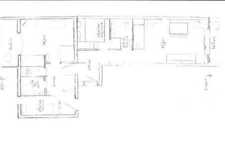 Vacances en montagne Appartement 2 pièces cabine 5 personnes (107) - Résidence les Balcons d'Olympie - Les Menuires - Plan