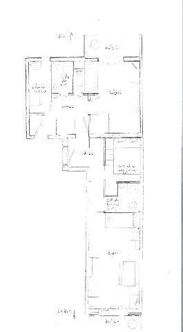 Vacances en montagne Studio cabine 4 personnes (108) - Résidence les Balcons d'Olympie - Les Menuires - Plan