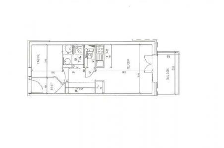 Vacances en montagne Appartement 2 pièces 4 personnes (302) - Résidence les Balcons d'Olympie - Les Menuires
